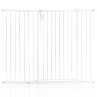 Safetots Extra Tall Hallway Gate White 121.8 - 127.8cm