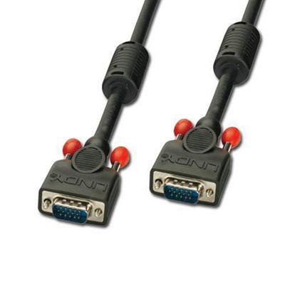 Lindy 0.5m Premium VGA Monitor Cable Black