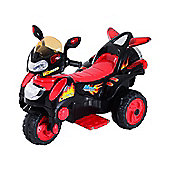 Homcom Children Ride on Toy Kids Motorbike 6V Battery Operated Toy Trike