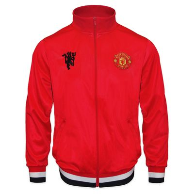 Manchester United FC Boys Track Jacket Red 8-9 Years MB