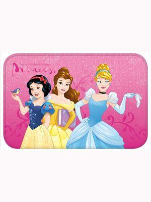 Disney Princess Pink Floor Mat 40cm X 60cm