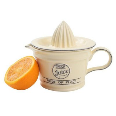 T&G Woodware Ceramic Pride of Place Juicer, Old Cream