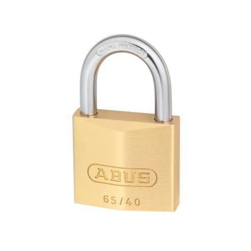 65/40 40mm Brass Padlock Keyed 6404