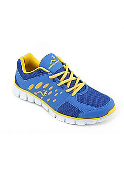 Woodworm Sports Ezr Mens Running Shoes / Trainers - Blue