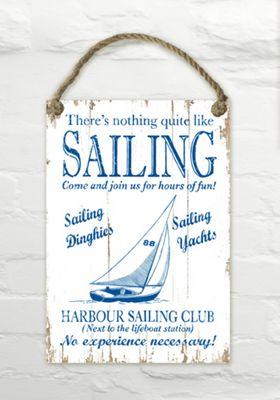 Martin Wiscombe Sailing Decorative Wall Sign