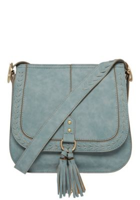 F&F Distressed Cross-Body Bag