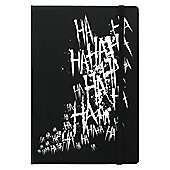 Maniacal Laugh A5 Black Notebook 14x21cm