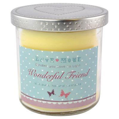 Wonderful Friend Candle