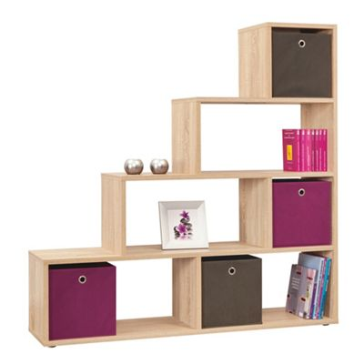 Kensington Room Divider/bookcase Sonama Oak