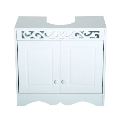 Pleasing Buy Homcom Bathroom Under Sink Storage Cabinet 2 Door Wooden Home Interior And Landscaping Pimpapssignezvosmurscom