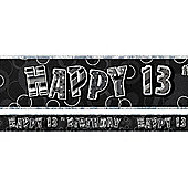 Dazzling Effects 13th Birthday Banner - 12ft