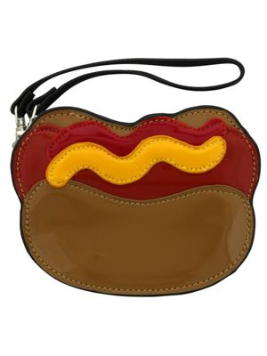 Hot Dog Zippered Coin Purse