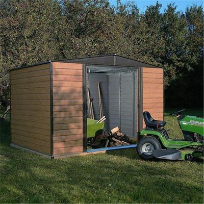8 x 6 Woodvale Metal Sheds (2.53m x 1.81m) (8ft x 6ft)