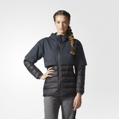 adidas Performance Womens Climaheat Light Jacket - XS
