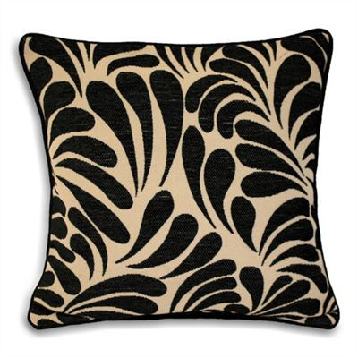 Riva Home Dubai Black Cushion Cover - 55x55cm