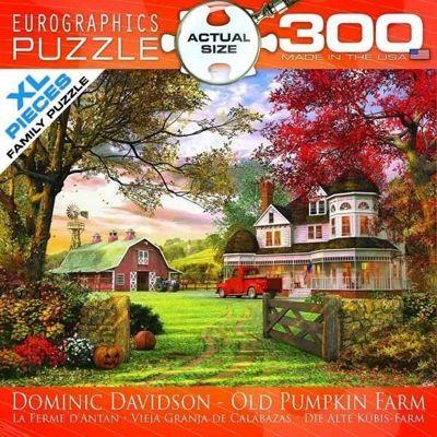 Old Pumpkin Farm - 300XLpc Puzzle