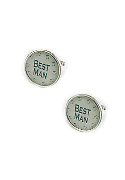 Silver Wedding Bells - Best Man Cufflinks