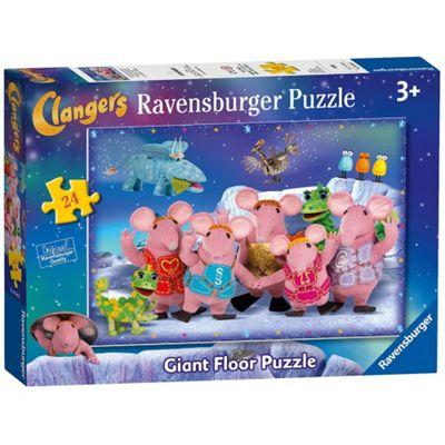 Clangers 'Giant Floor' 24 Piece Jigsaw Cardboard Puzzle