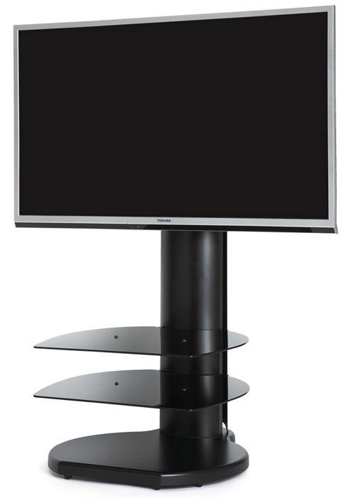 Cantilever TV Stand - Origin II S3A TV Stand In Black