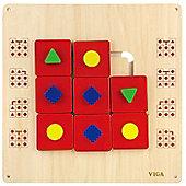 Viga Wooden Wall Toy - Shape Maze