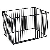 Safetots Play Pen Black 72 x 105 cm