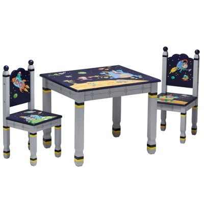 Fantasy Fields Outer Space Table & 2 Chair Set