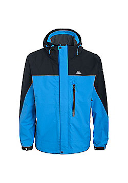 Trespass Mens Tafelberg Waterproof Walking Coat - Blue