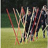 Precision Training Boundary Poles (Set of 12)