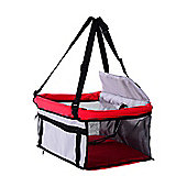 PawHut Dog Puppy Pet Car Booster Seat Travel Carrier Bag Cage Tote Folding