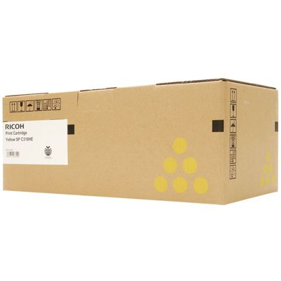 Ricoh Yellow Toner Cartridge High Capacity (Yield 6,000 Pages) for SPC312 Colour Laser Printer