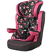 OBaby Group 1-2-3 High Back Booster Car Seat (Grey Rose)