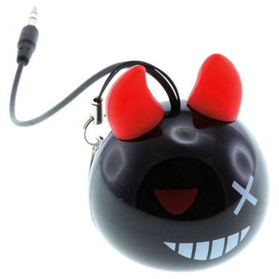 KitSound Mini Buddy Devil Bomb Speaker for iPod/iPad/iPhone & Android Devices