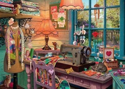 My Haven 4 - The Sewing Shed - 1000pc Puzzle