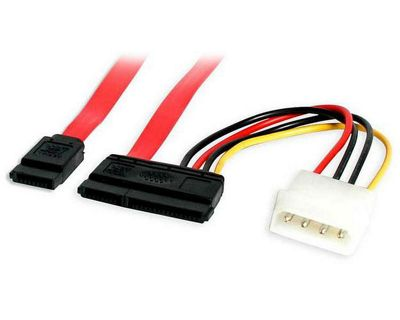 StarTech 6in SATA Serial ATA Data and Power Combo Cable