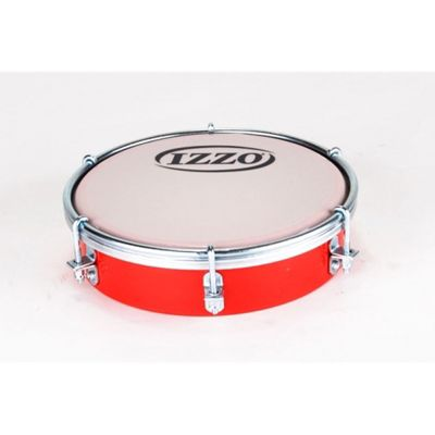 Izzo 6 inch ABS Tamborim - Red