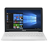 Asus VivoBook E203 11.6 inch Windows 10 Office 365 Celeron Laptop 2GB RAM 32GB Storage - White