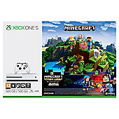 Xbox One S 500GB Minecraft Complete Adventure Console