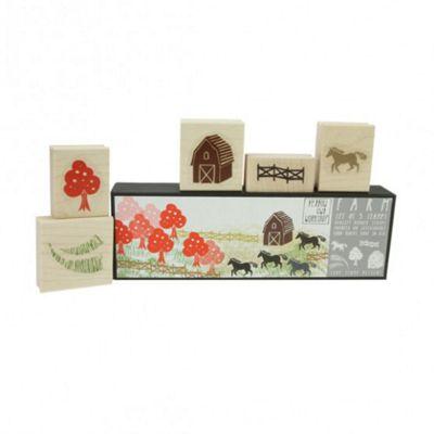 Yellow Owl Workshop Stamp Set - Farm
