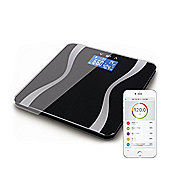 Bluetooth Full Body Analysing Smart Scales - Black