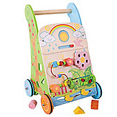 Bigjigs Toys Flower Activity Walker