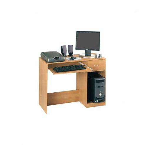 Altruna Bellport Computer Desk in Beech Veneer