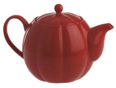 La Porcellana Bianca Momenti Teapot with Filter in Red, 800ml P00020121R