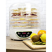 ElectriQ Food Dehydrator with Digital Temperature Control and Timer