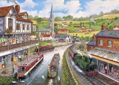 Ye Olde Mill Tavern - 500XL Puzzle