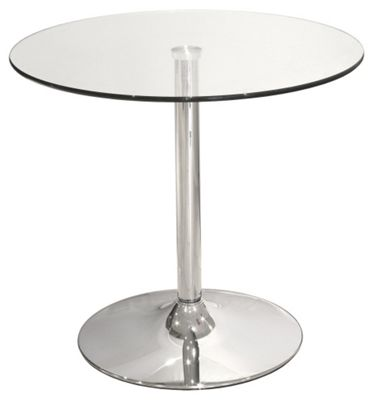 Home Essence Bistro Table with Glass Top
