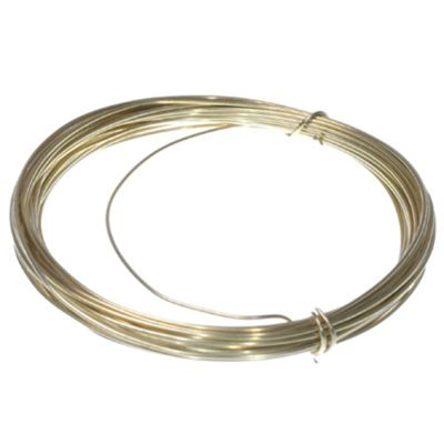 Wire - Brass - 0.8mm - 6mt