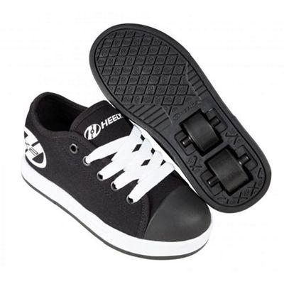 Heelys Fresh Black/White Kids HX2 Heely Shoe UK 5