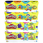 Play-Doh 4 Pack Bundle - 16 Cans