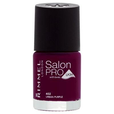 Rimmel London Salon Pro with Lycra Nail Polish 402 Urban Purple