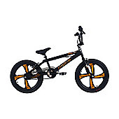 "Zombie Infest BMX Bike 20"" Wheel 10"" Frame Black/Orange"